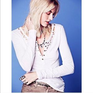 FREE PEOPLE HENLY TOP